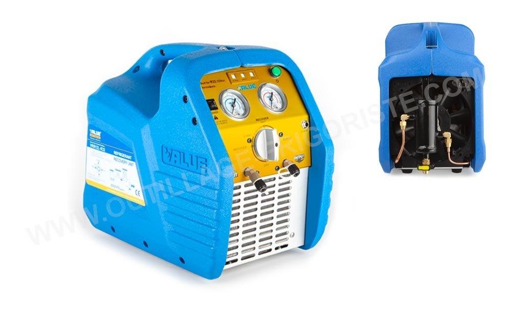 Station de récupération Value VRR24L R32 OS présentation séparateur d'huile