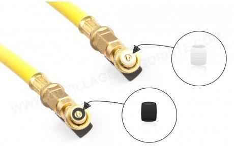 Joints pour vannes de flexibles en caoutchouc ou téflon